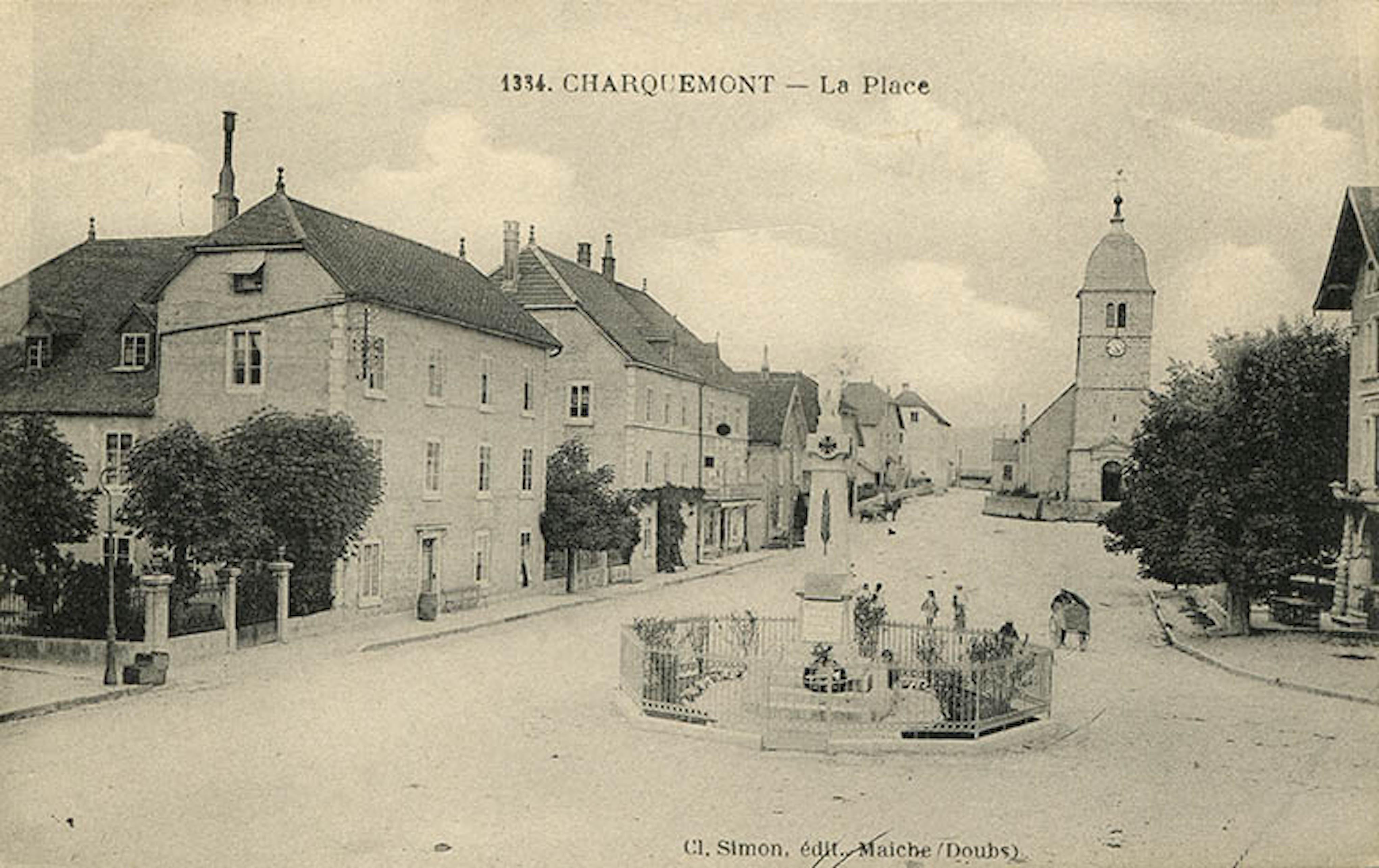 Carte postale ancienne Charquemont